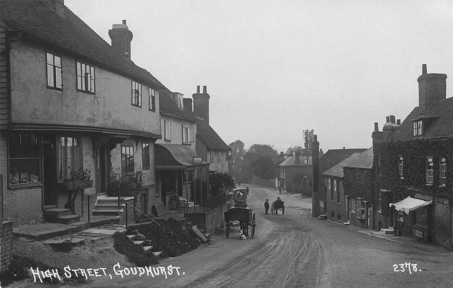 High Street, Goudhurst pre-1914