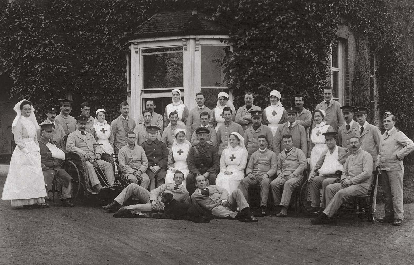 Lidwells Military Hospital, Goudhurst