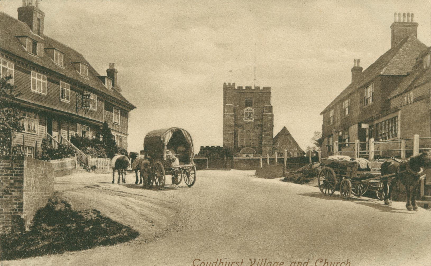 St. Mary's Church, Goudhurst pre-motor-traffic