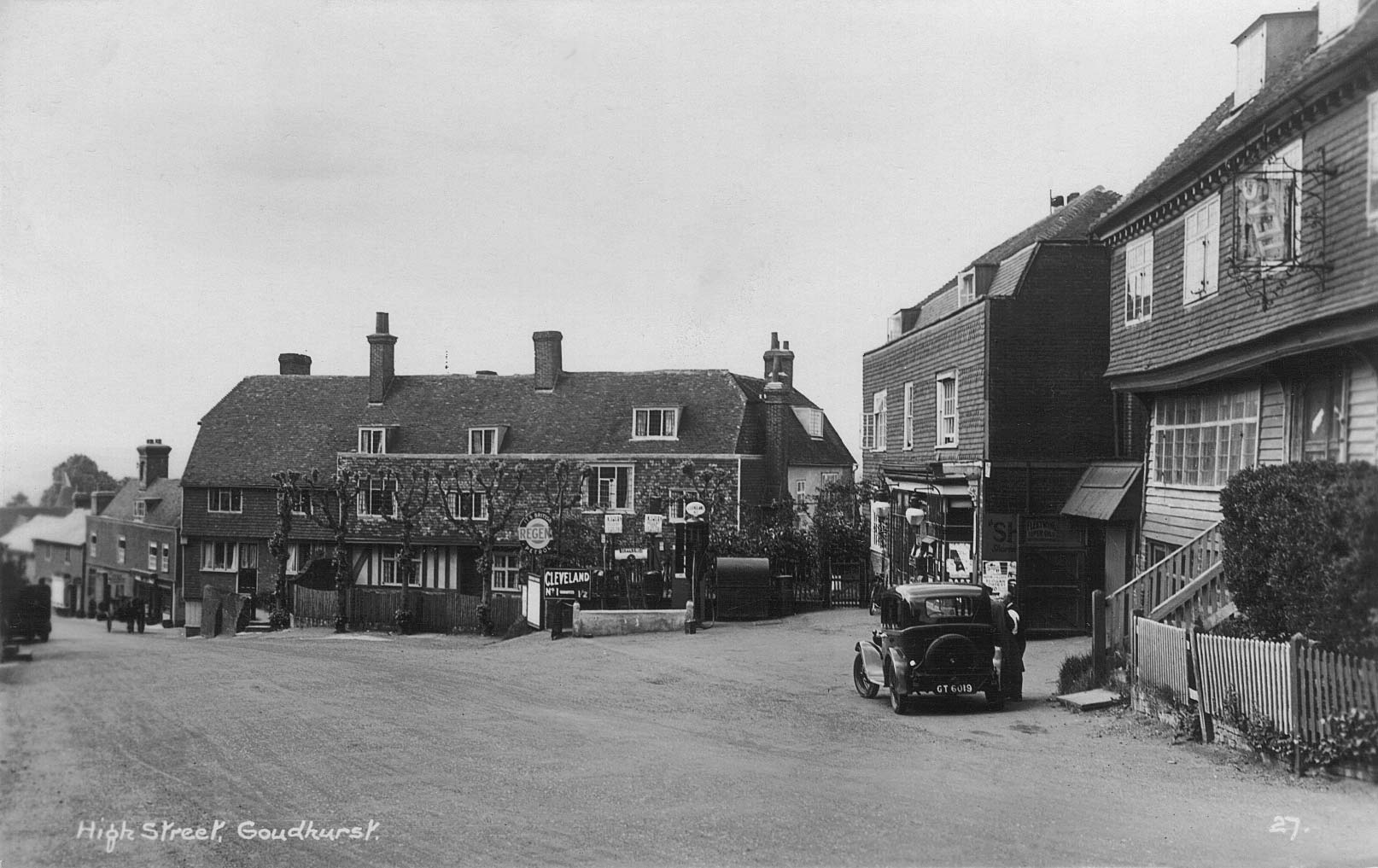 The old High Street, Goudhurst