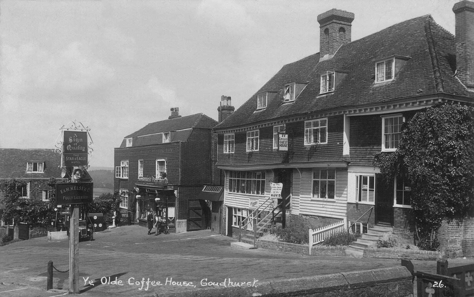 Old coffee shop, High Street, Goudhurst